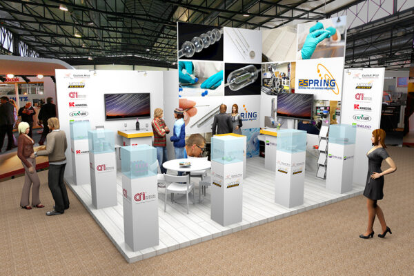Ontwerp 3D stand 2Spring