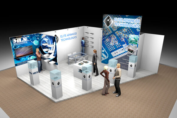 Ontwerp 3D stand Elite Advanced Technologies 5