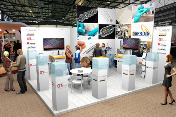 3D ontwerp stand 2Spring