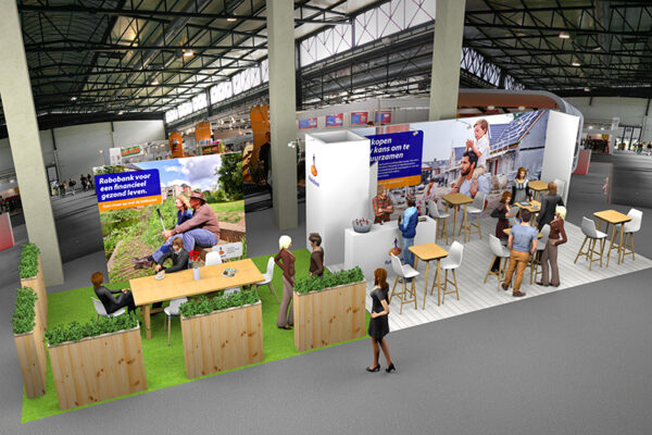 3D concept stand Rabobank